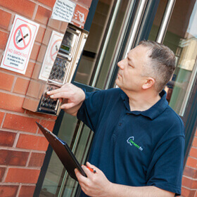 Facilities Management - Door access systems