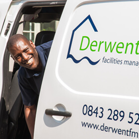 Derwent fm fleet of vans