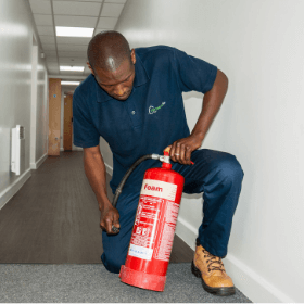 Facilities management - fire equipment inspections