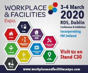 WorkPlace and Facilities Expo Logo