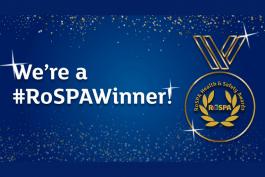 RoSPA Gold Award Winner