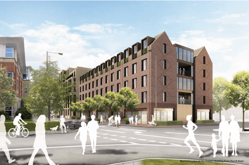 Student accommodation Egham