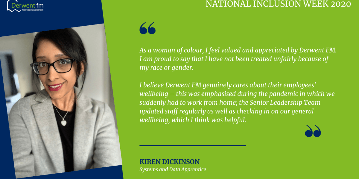 Kiren Dickinson National Inclusion Statement