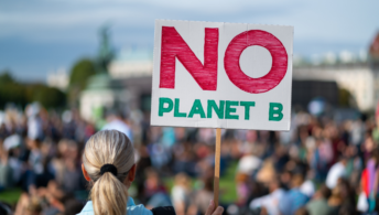 No planet B climate protests