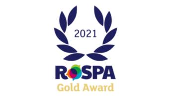 RoSPA gold award logo 2021
