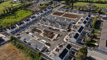 Aerial view of Roscommon